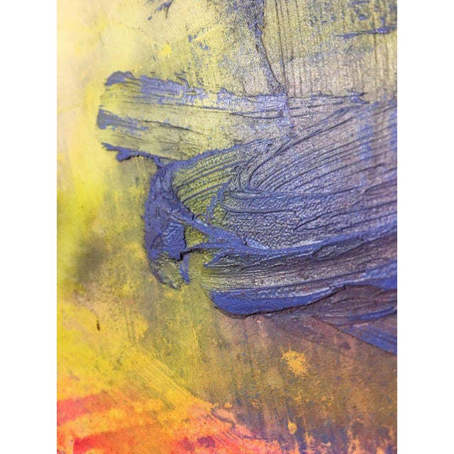 """Contemporary Abstract Oil Painting """"Unfolding Path"""" by Mirtha Moreno For Sale In West Palm - Image 6 of 11"""