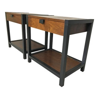 Pair of Milo Baughman for Directional End Tables
