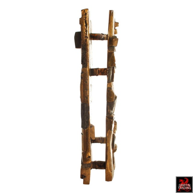 Bronze Brutalist Abstract Sculpture For Sale In Dallas - Image 6 of 13
