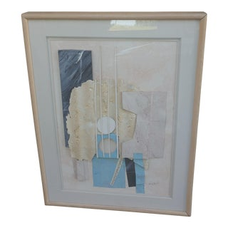 Lee Reynolds Mid-Century Abstract Collage For Sale