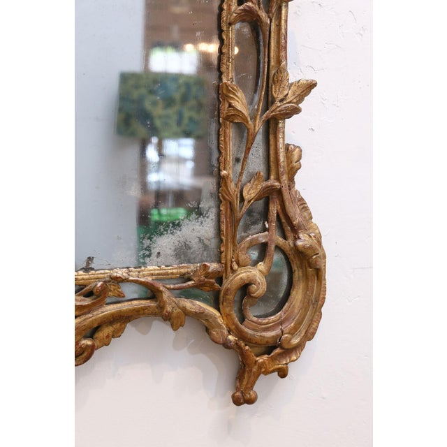 Regence Period Giltwood Mirror For Sale - Image 9 of 11