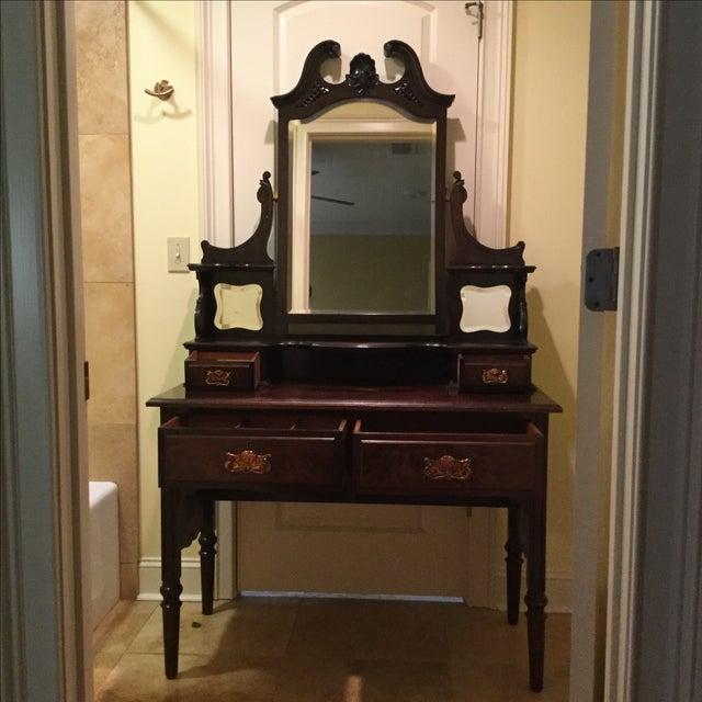 English Traditional Vanity Table - Image 2 of 10