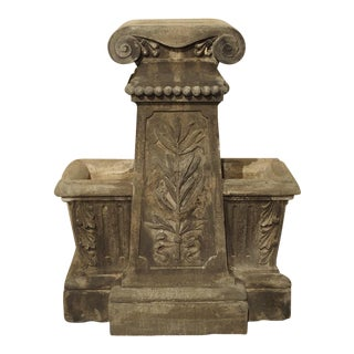 Unusual Reconstituted Stone Jardiniere from France, Circa 1880 For Sale