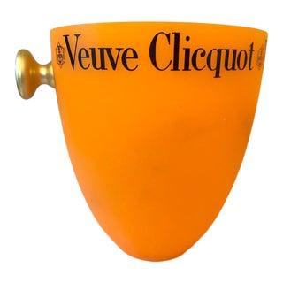 Vintage Veuve Clicquot Ponsardin Orange Champagne Cooler For Sale