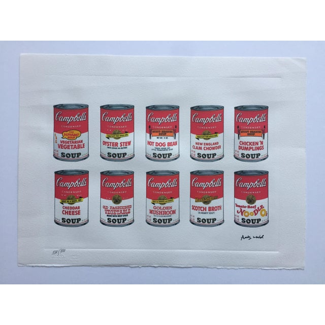 Andy Warhol Campbell's Soup Cans - Image 4 of 4