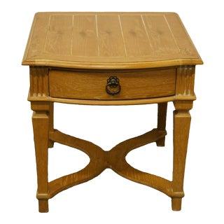 "Italian Lexington Furniture Provincial 31"" End Table For Sale"