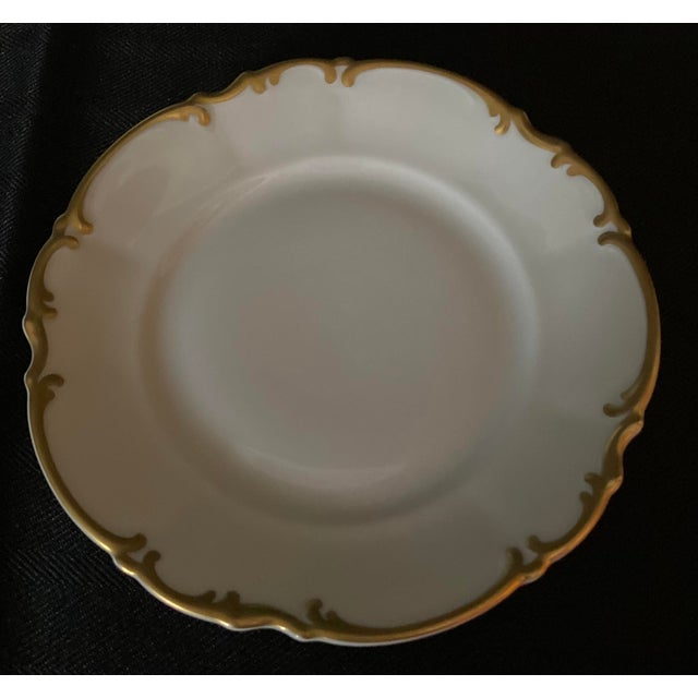 Early 21st Century Vintage Hutschenreuther Brighton & Pasco Porcelain Bread & Butter Plates - Set of 12 For Sale - Image 5 of 13