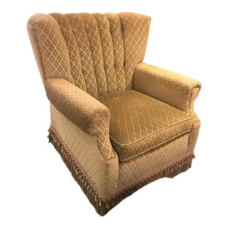 Decorator Club Chair and Ottoman by Swaim For Sale
