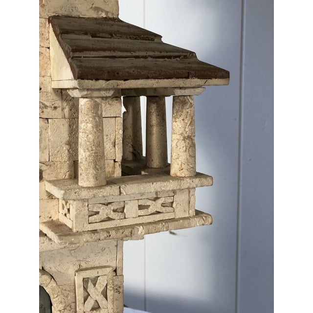 White Pair of Mediterranean Villa Table Lamps For Sale - Image 8 of 10