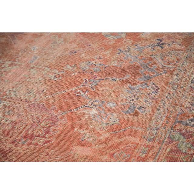 "Distressed Oushak Carpet - 5'4"" X 8' - Image 3 of 9"