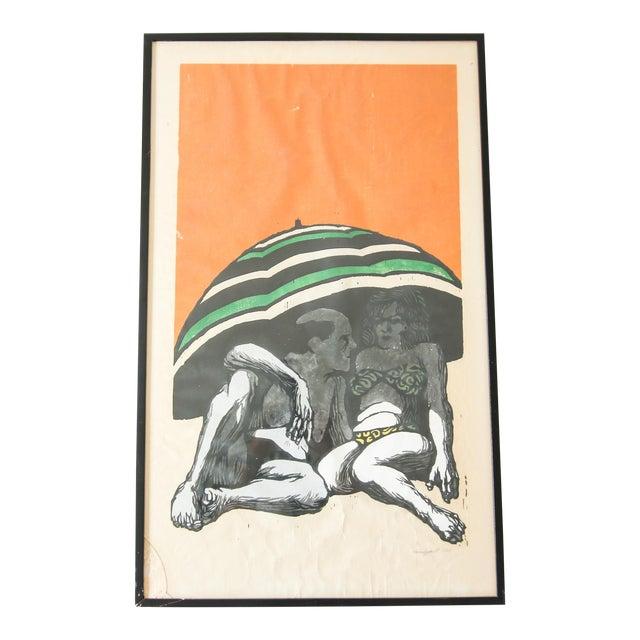 Louis Grant Beach Print For Sale