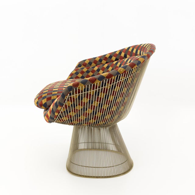 Warren Platner Mid Century Modern Lounge Chair For Sale In Chicago - Image 6 of 8