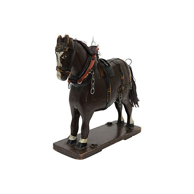 Late 19th Century Antique French Folk Art Horse For Sale - Image 5 of 5