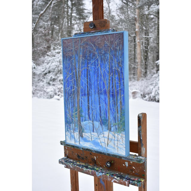 "Stephen Remick Contemporary Painting ""Up and Into the Mountains of Vermont"" For Sale In Providence - Image 6 of 13"