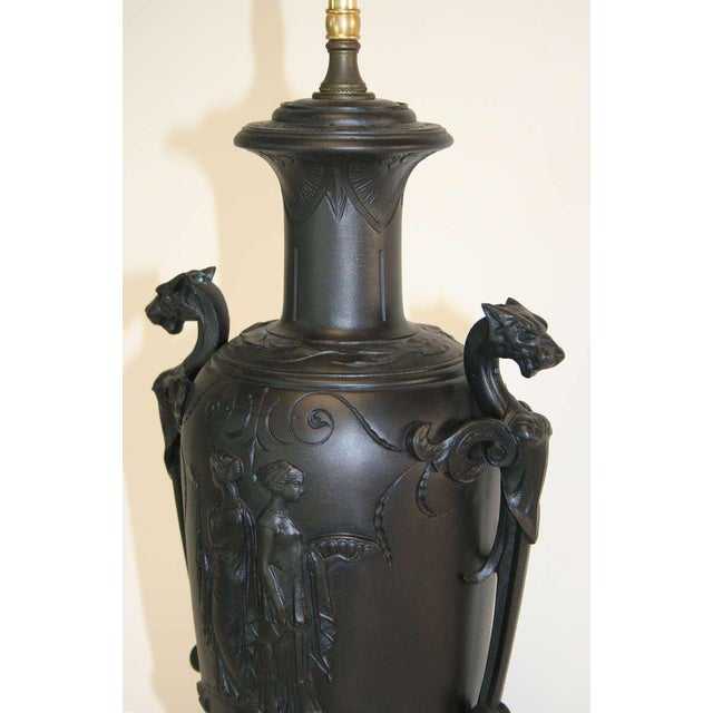 19th Century Neo-Grec Lamp For Sale - Image 4 of 7