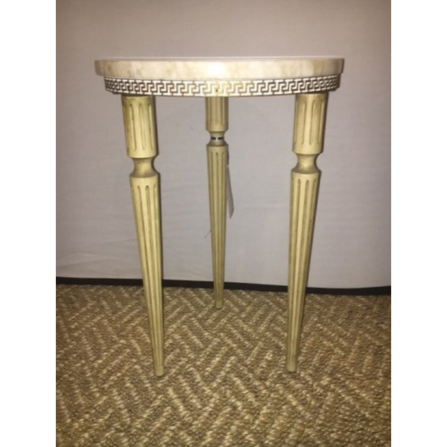 French Directoire Marble End Table - Image 3 of 6
