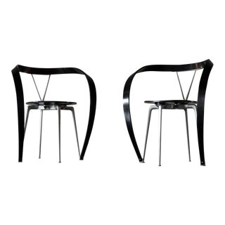 "1990s Andrea Branzi ""Revers"" Chairs by Cassina- A Pair For Sale"