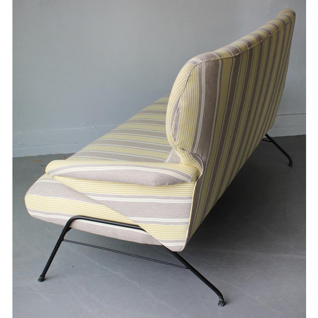 1950s 1950s Italian Wing Back Sofa For Sale - Image 5 of 6