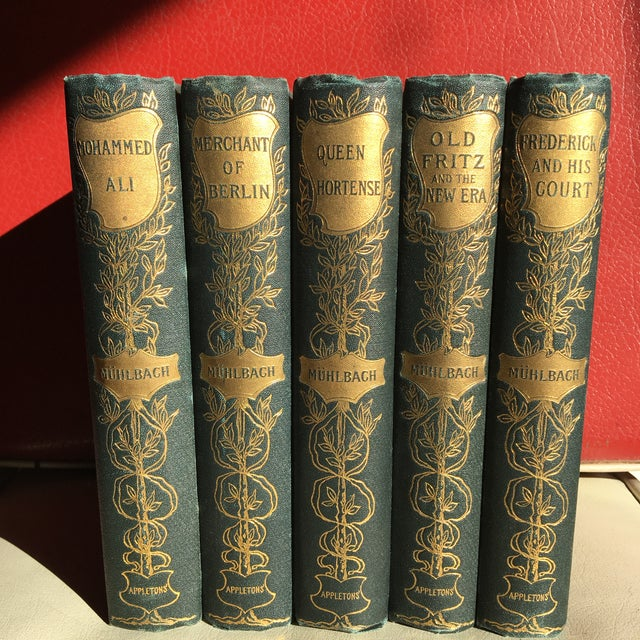 19th Century Traditional Luise Mulbach Antique Books - Set of 5 For Sale - Image 12 of 12