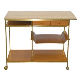 Paul McCobb Mid Century Bar Cart for Calvin Furniture, Grand Rapids C.1950s