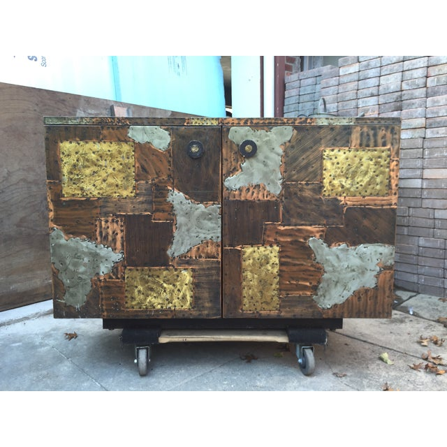 Paul Evans Patchwork Cabinet - Image 2 of 8