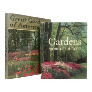 "Contemporary ""Great Gardens"" First Edition Books - a Pair For Sale"
