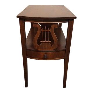 Duncan Phyfe Style Mahogany Side Table
