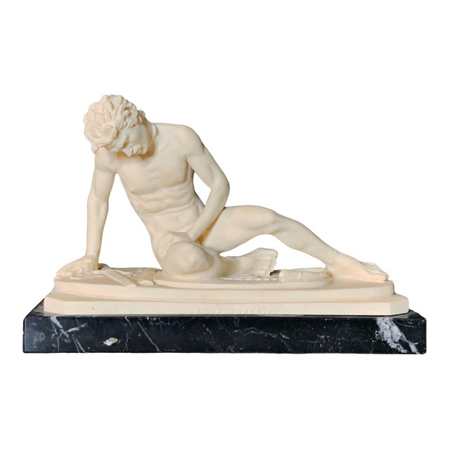 The Dying Gaul Grand Tour Style Figurine For Sale