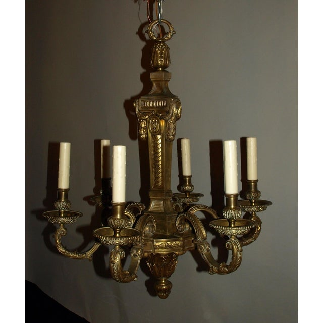 Antique Chandelier in Louis XVI Style - Image 2 of 8