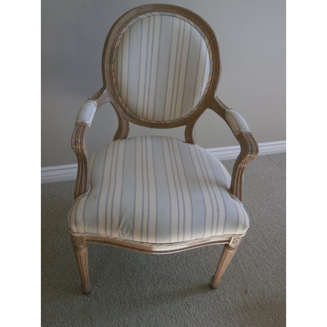 French Neoclassical Armchairs - Set of 8 - Image 2 of 6