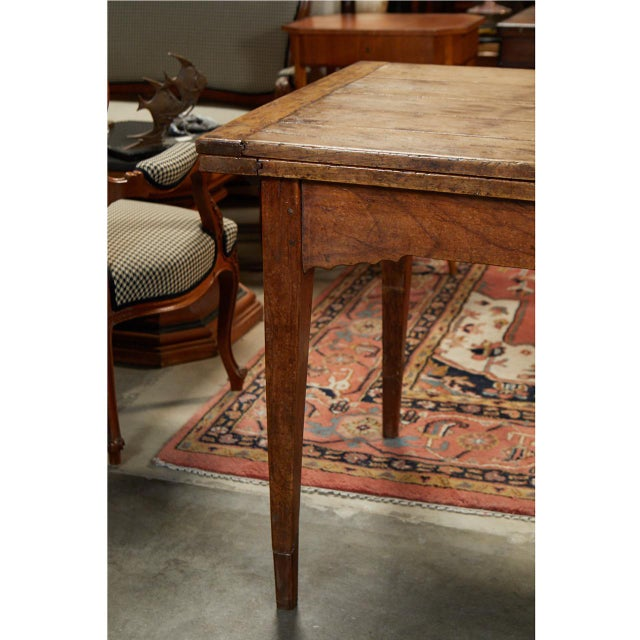 French French Country Dining Table With Pull Out Leaves For Sale - Image 3 of 12