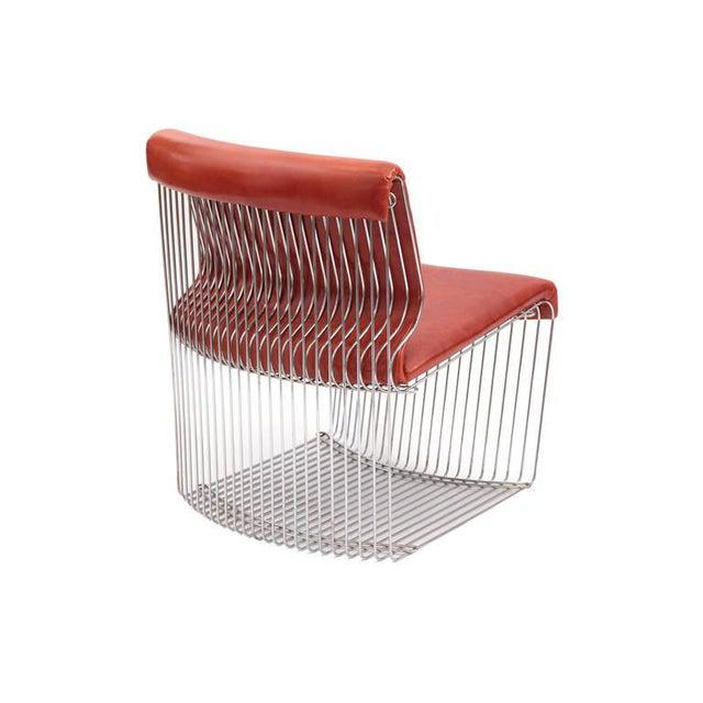 1970s 1970s Vintage Verner Panton for Fritz Hansen Pantonova Chairs- Set of 3 For Sale - Image 5 of 8