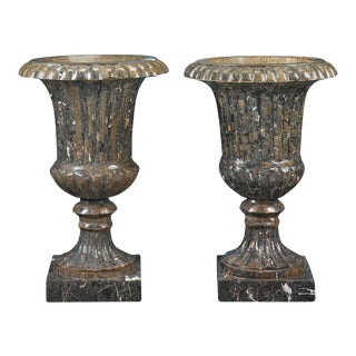 Neoclassical Marble Urns For Sale