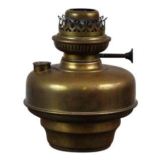 Antique Original Belgian L&g Brevets Brass Oil Hand Lamp C.1900's For Sale