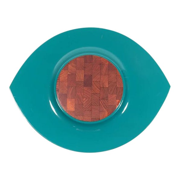 Jens Quistgaard Festival Lacquer Tray For Sale