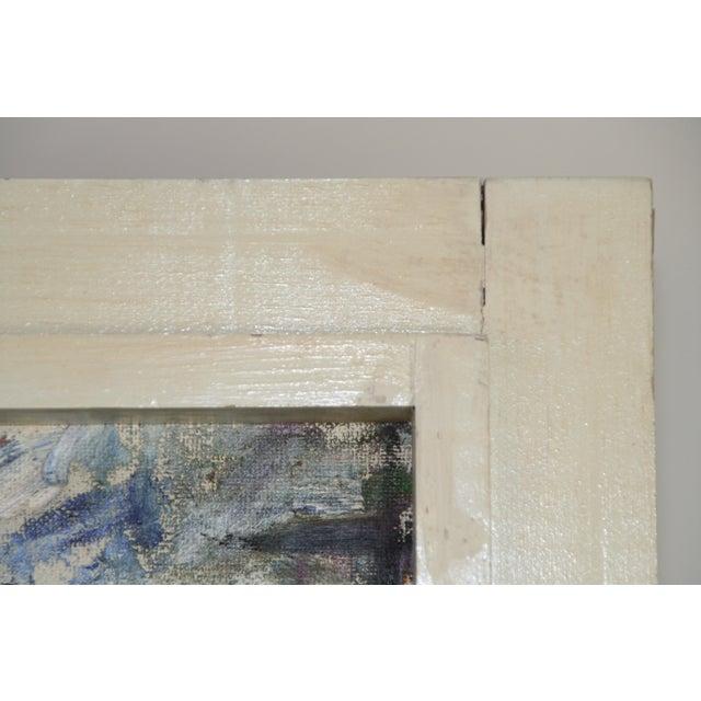 Vintage Julia Bureau Abstract Oil Painting - Image 7 of 7