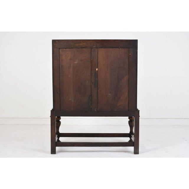19th Century Jacobean-style Drop-Front Desk For Sale - Image 10 of 10