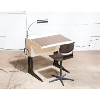 Mid-Century Modern Desk & Chair by Luigi Colani Preview