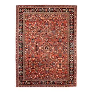 Antique Persian Area Rug Sultanabad Design For Sale