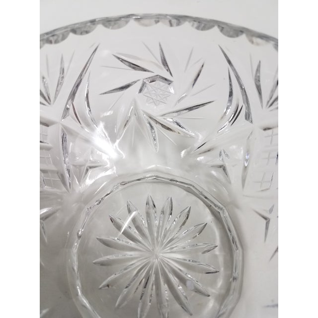 Antique English Crystal Flower Frog For Sale In Dallas - Image 6 of 7