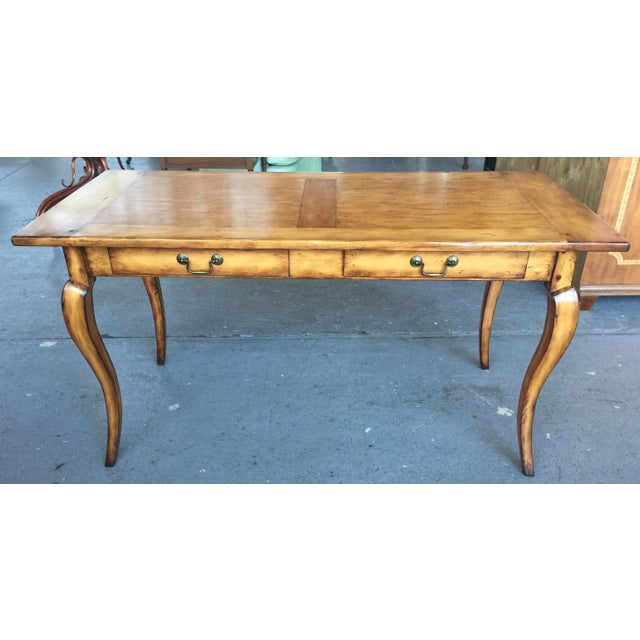 French Provincial Style Writing Desk For Sale - Image 10 of 10