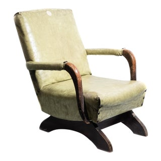 1930s Nursery Child Size Rocking Chair For Sale