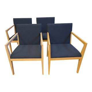 Ofs Balance Arm Chairs - Set of 4 For Sale