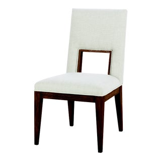 Century Furniture Casa Bella Upholstered Dining Side Chair - Sierra Finish For Sale