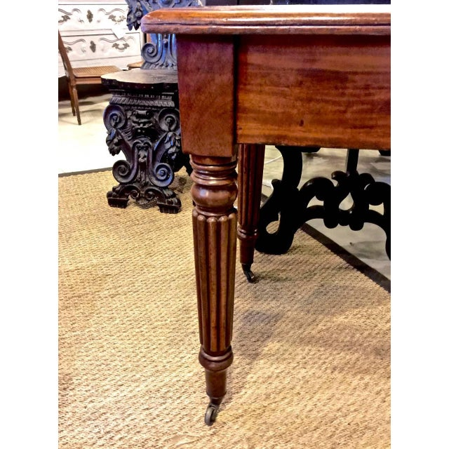 Regency or William IV Writing Table/Desk with Book Stand For Sale In Los Angeles - Image 6 of 10
