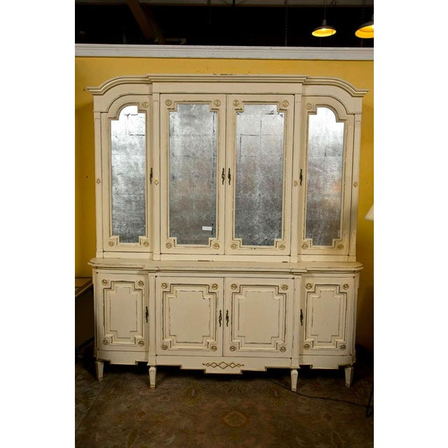 Maison Jansen Ivory Painted Bookcase - Image 2 of 10