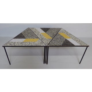 Handcrafted Italian Mosaic Tile Tables - Set of 3 Preview