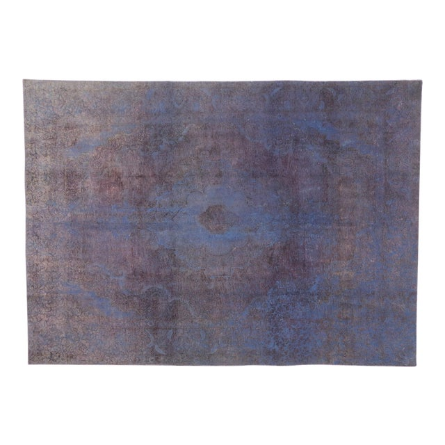 Vintage Turkish Rug With Contemporary French Style - 08'00 X 11'01 For Sale