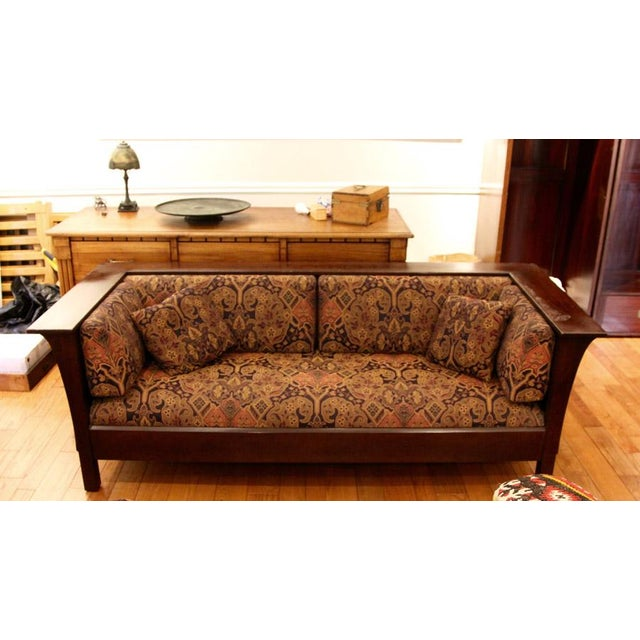 Stickley Arts & Crafts Sofa - Image 5 of 5