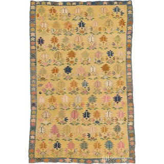 Early 20th Century Eastern European Bessarabian Rug- 4′9″ × 7′6″ For Sale
